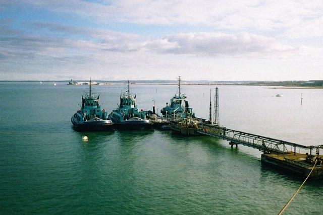 Tugs at Fawley Marine Terminal