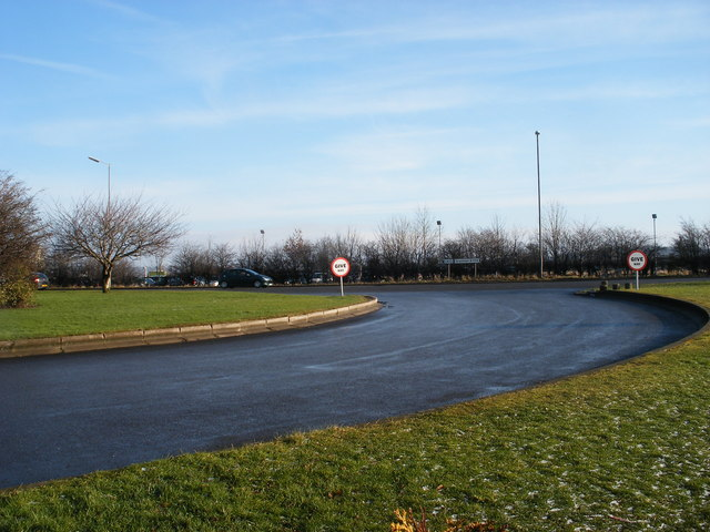 Grantham Services roundabout