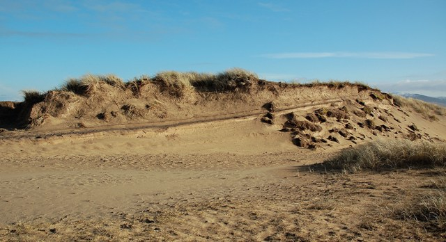 Layers In The Dunes