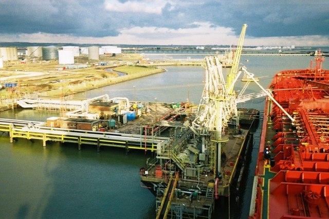 Coryton oil terminal