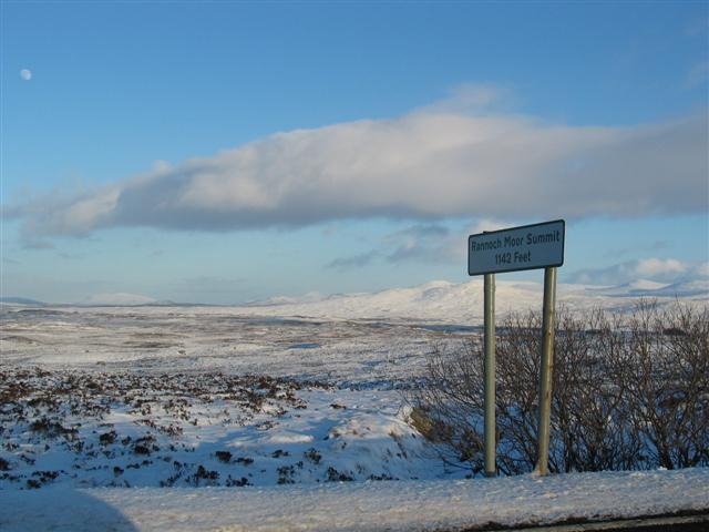 Rannoch Moor Summit