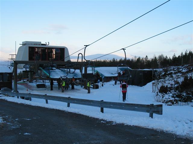 Glencoe Ski Centre chair lift