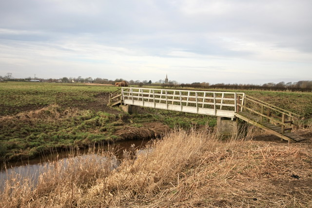Footbridge Across the Broadfleet