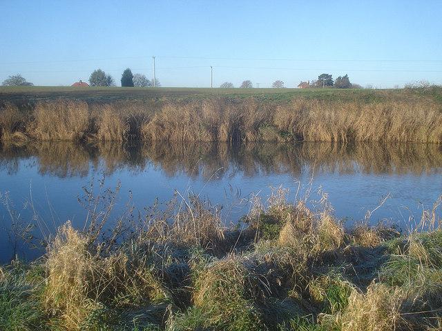 River Avon near Bourne Farm
