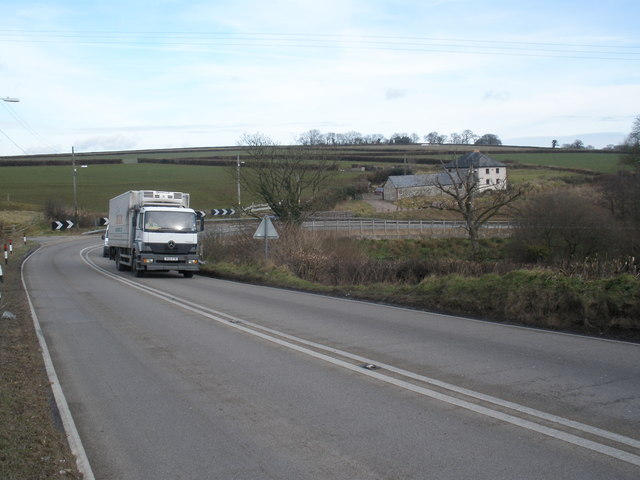 The A303, near Knightshayne Farm