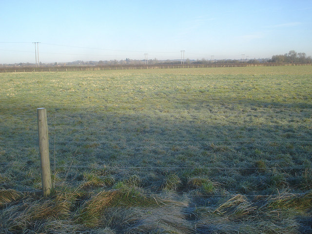 Water meadow west of Eckington - 2