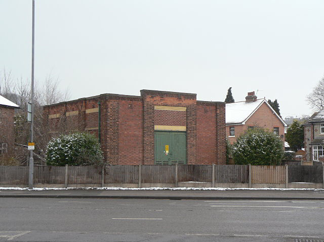 Substation on Mile End Road