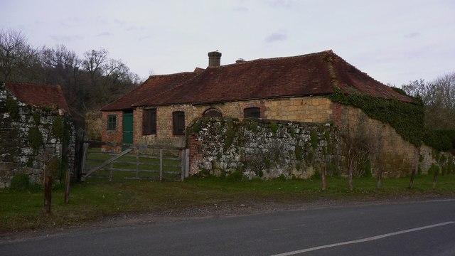 Barns on Vann Road near Fernhurst