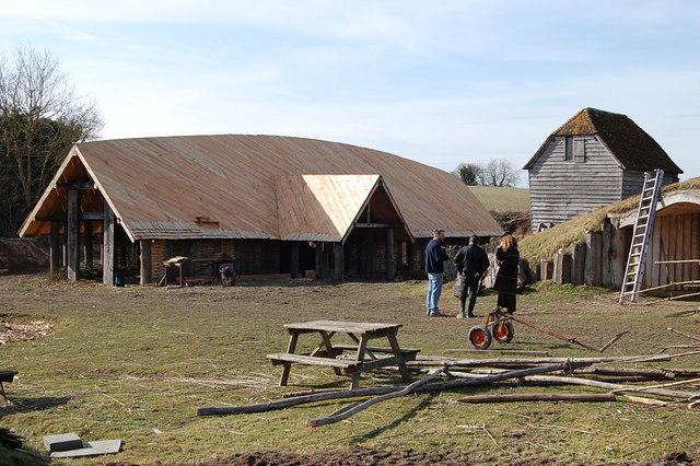 Viking Longhouse, Ancient Technology Centre, Cranborne, Dorset
