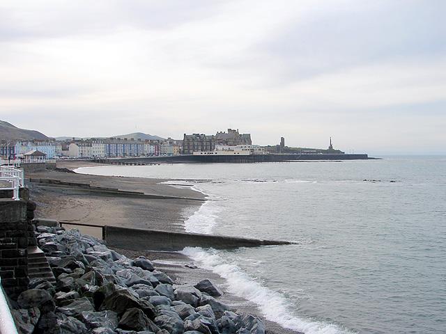 Aberystwyth beach
