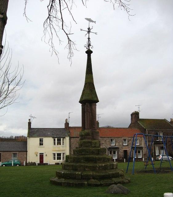 Norham's market cross