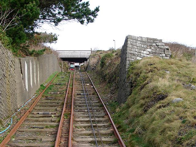 Aberystwyth Cliff Railway - 2