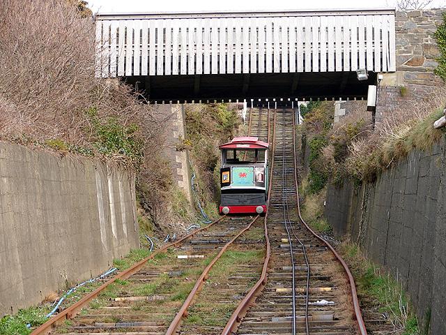 Aberystwyth Cliff Railway - 3