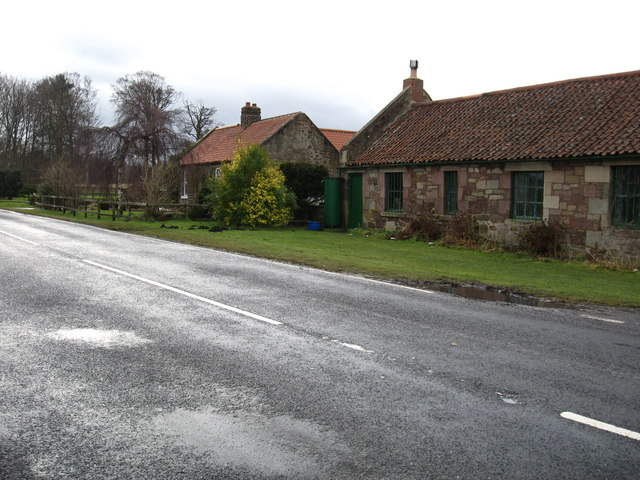 Old roadside cottages