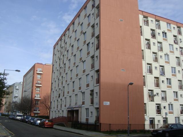 Blocks of flats in the Regent's Park Estate