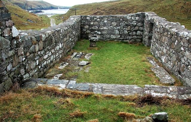Kilchiaran Chapel Interior