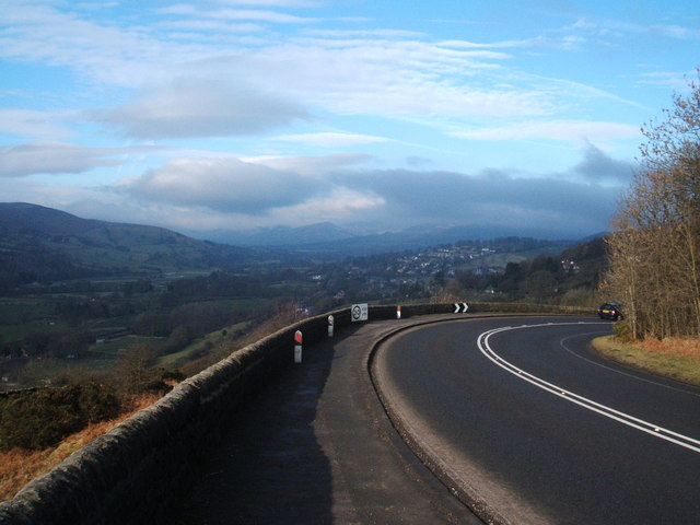 A6187 (formerly the A625), towards Hathersage