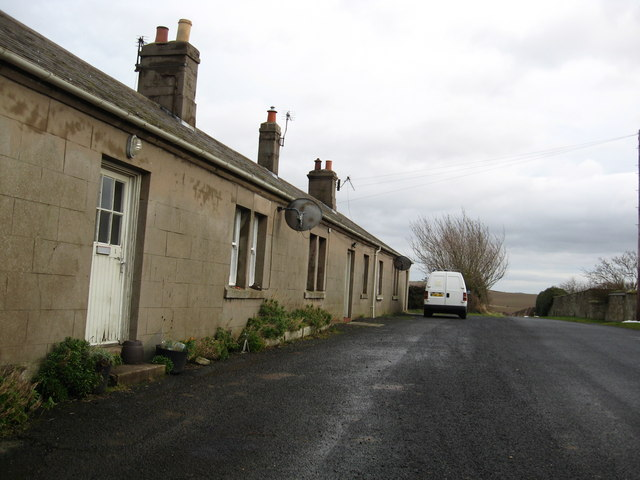 Orlit type cottages at Shellacres Farm