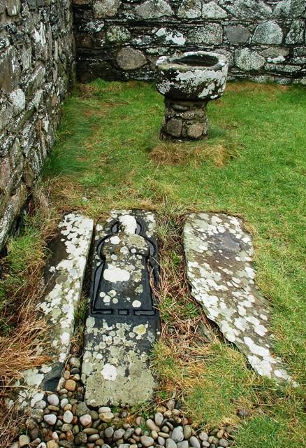 Medieval Grave-Slab At Kilchiaran