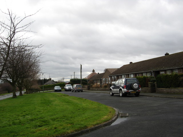 Row of cottages at Donaldson's Lodge