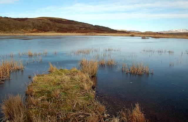Frozen Loch Tallant