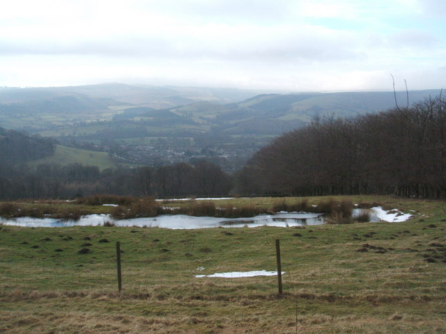 Pond above Kimber Court Farm