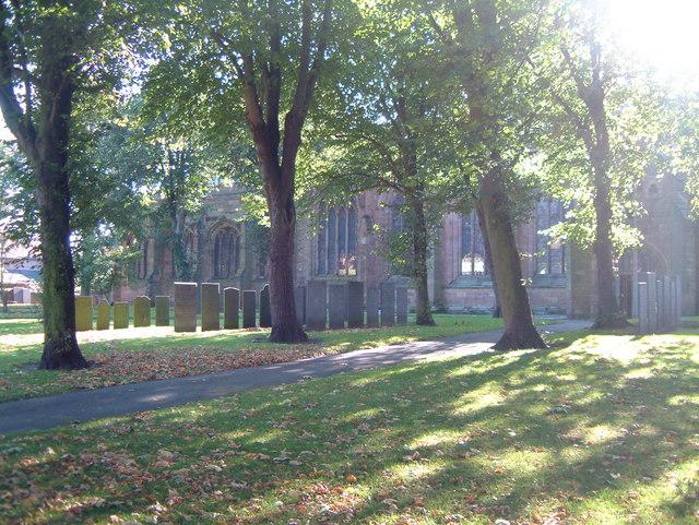 St Editha's Churchyard  (8)