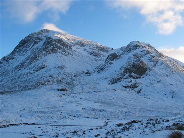 Buachaille Etive Mor from the A82