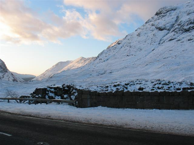 Looking back from the Pass of Glencoe