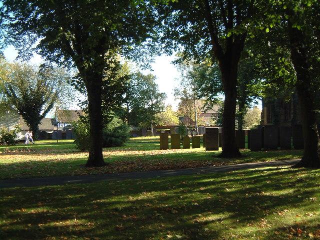 St Editha's Churchyard  (9)