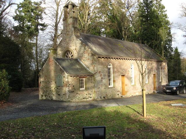 The parish church of Mertoun and Maxton
