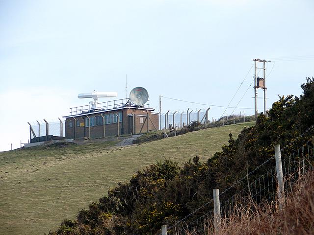 Radar station on Constitution Hill