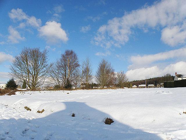 Snow in Harrow Hill