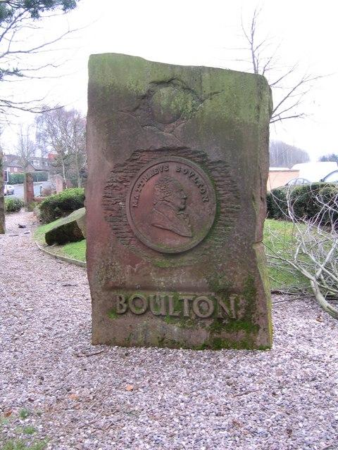 Stone Memorial, Matthew Boulton, Asda Queslett