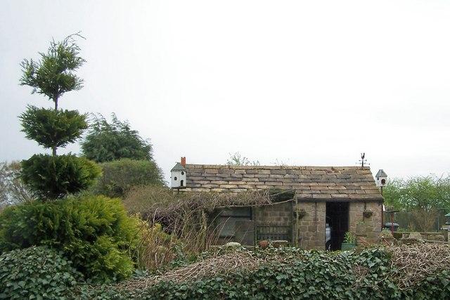 Topiary and Dovecotes, Stubbing Lane, near Worrall
