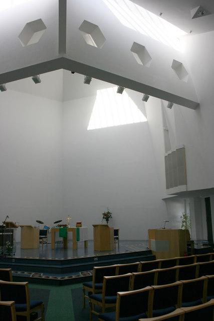Interior of St Lukes Church, Buckfastleigh