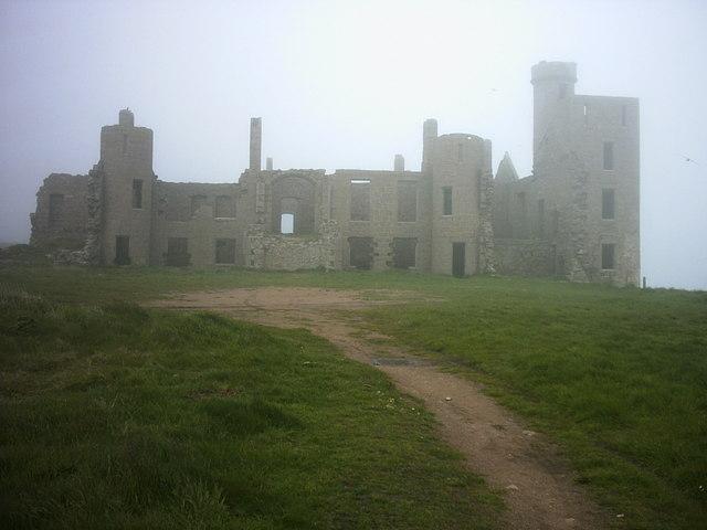 Slains Castle ruins