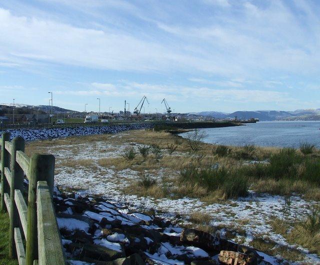 Former Glen shipyard