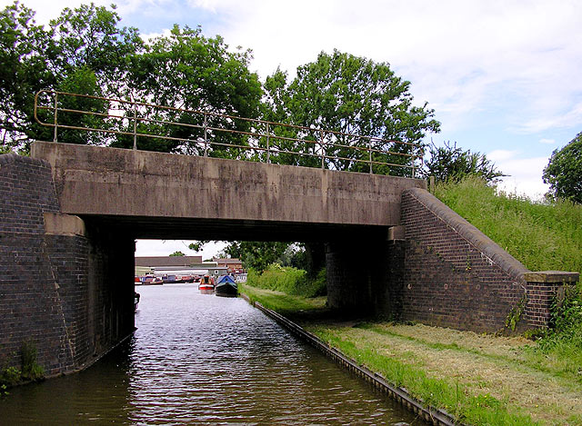 The Coventry Canal near Lichfield, Staffordshire