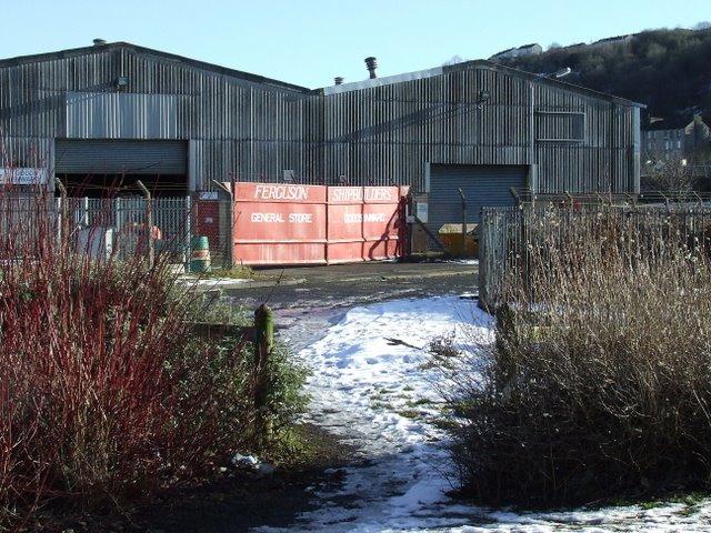 Ferguson's shipyard