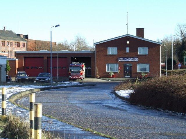 Port Glasgow fire station