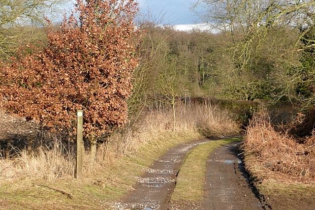 Footpath towards Haw Farm