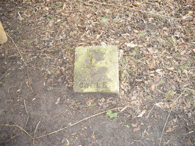 Eastern Electricity Cable Marker Stone