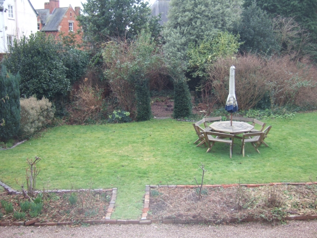 Garden of the Old Deanery, Exeter