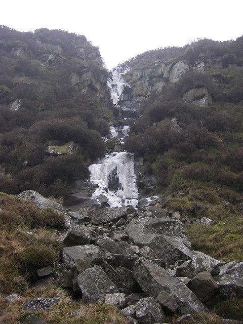 Frozen Waterfall on Scout Rock