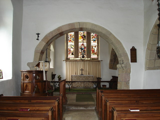 St Bega's Church - interior