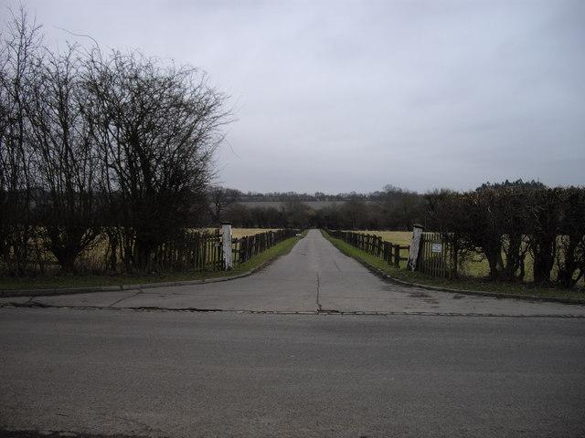 Entrance to Hatfield Park
