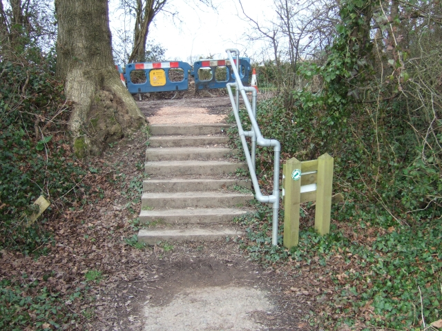 Steps on the Exeter Green Circle Walk