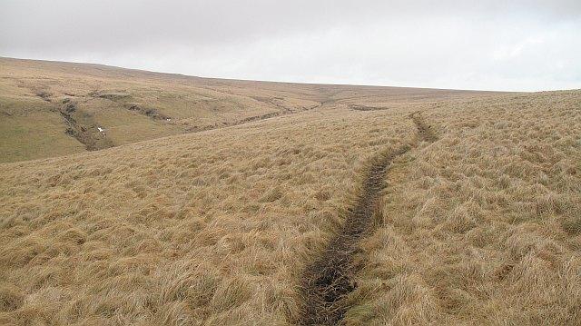 Pony path, Cefn Blaen-coel