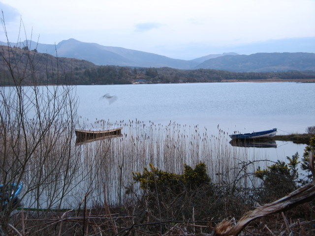 Idyllic scenery at Lough Caragh